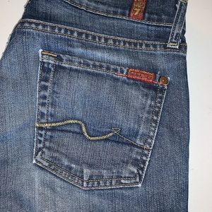 7 For All Mankind Jeans - 7 For All Mankind Slightly Flared Capris